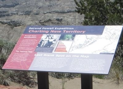 Second Powell Expedition Marker image. Click for full size.