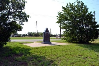 12th Armored Division at Camp Barkeley Marker image. Click for full size.