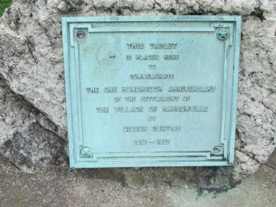 Tablet Right of the World War Marker image. Click for full size.