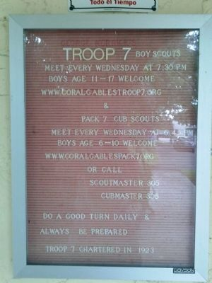 Troop 7 Message Board image. Click for full size.
