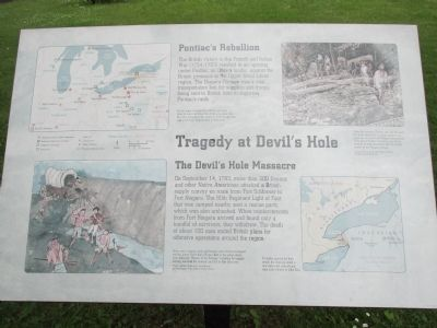 Tragedy at Devil's Hole Marker image. Click for full size.
