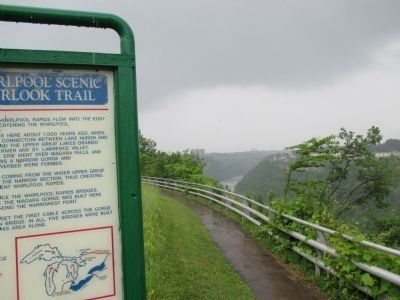 Whirlpool Rapids Marker and Rim Trail image. Click for full size.