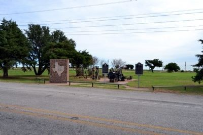 Burkburnett Marker image, Touch for more information