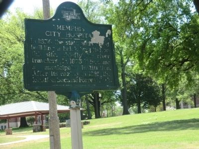 Memphis City Hospital Marker image. Click for full size.