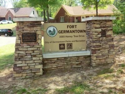 Fort Germantown-Entrance image. Click for full size.