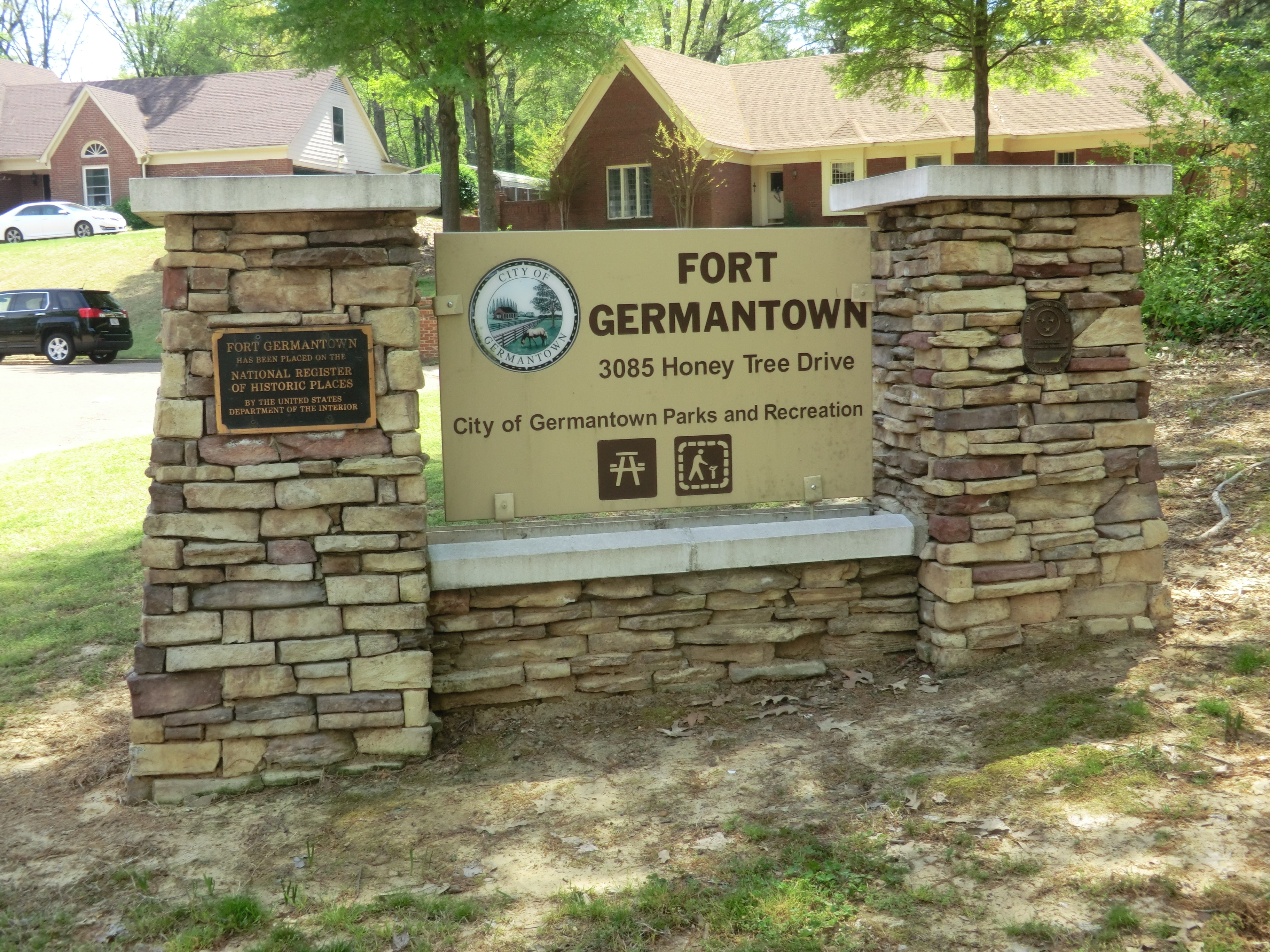 Fort Germantown-Entrance