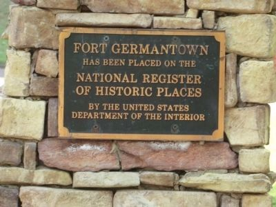 Fort Germantown image. Click for full size.