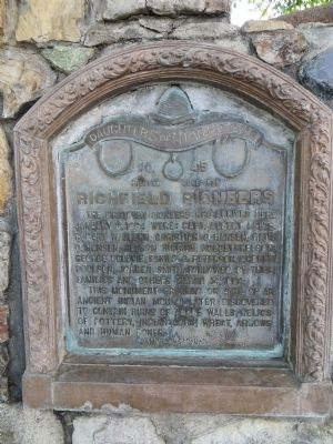 Richfield Pioneers Marker image. Click for full size.