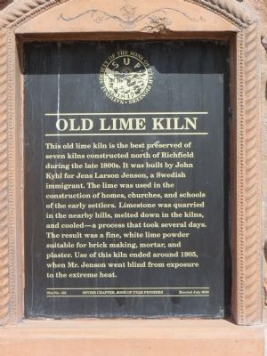 Old Lime Kiln Marker image. Click for full size.