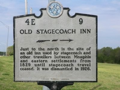 Old Stagecoach Inn Marker image. Click for full size.