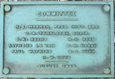 Geneva College Marker Committee image. Click for full size.