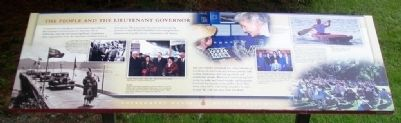 The People and the Lieutenant Governor Marker image. Click for full size.
