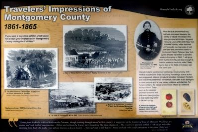 Traveler's Impressions of Montgomery County Marker image. Click for full size.