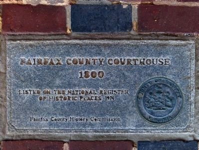 Fairfax Court House<br>1800 image. Click for full size.