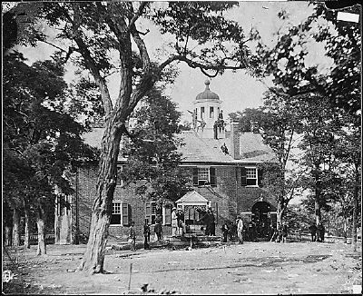 Army of the Potomac at Fairfax Courthouse, June 1863 image. Click for full size.