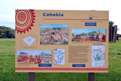 Cahokia Marker image. Click for full size.