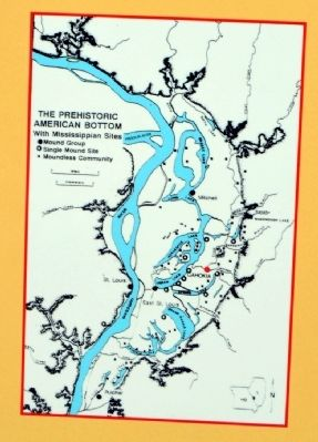 The Prehistoric American Bottom with Mississippian Sites image. Click for full size.