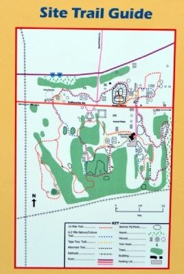 Site Trail Guide for Cahokia Mounds image. Click for full size.
