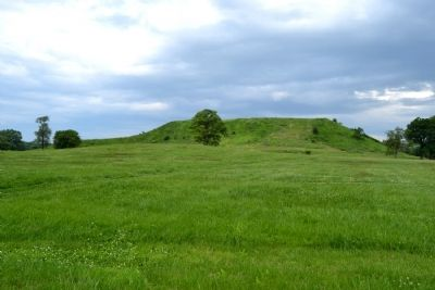 Monks Mound image. Click for full size.