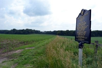 View towards Stewart-Griesinger Cemetery image. Click for full size.