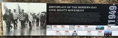 Birthplace of Civil Rights Movement image. Click for full size.