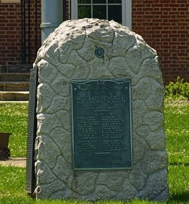 A Tribute to The Men of Fairfax County Marker image. Click for full size.