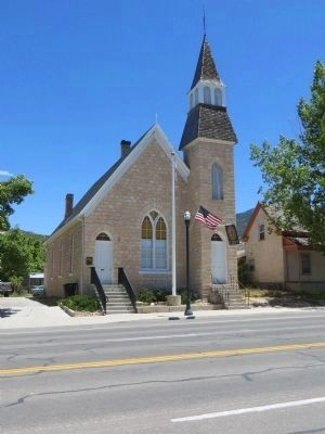 The First Presbyterian Church of Manti image. Click for full size.
