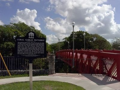 Coral Gables Waterway Marker image. Click for full size.