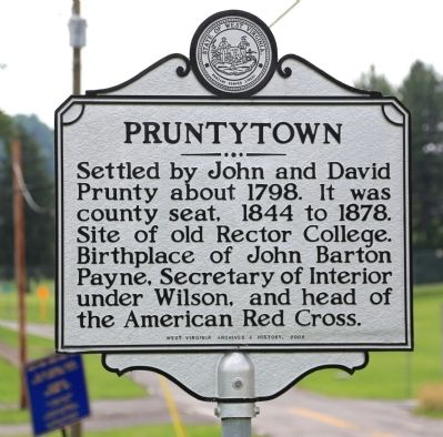 Pruntytown Marker image. Click for full size.
