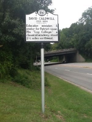 David Caldwell Marker image. Click for full size.