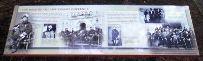 The Role of the Lieutenant Governor Marker image. Click for full size.