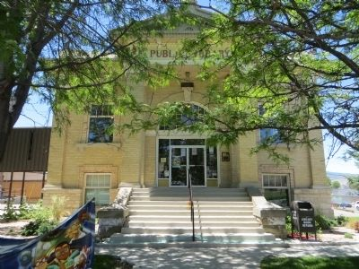 Manti Carnegie Library image. Click for full size.
