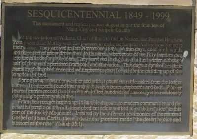 Sesquicentennial 1849 – 1999 Marker image. Click for full size.