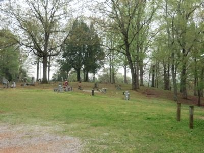 Doe Creek Cemetery image. Click for full size.
