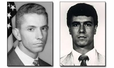 Special Agent Benjamin Grogan and Special Agent Jerry Dove image. Click for full size.