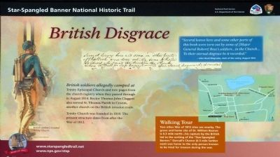 British Disgrace Marker image. Click for full size.
