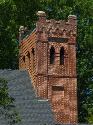 Trinity Church Tower image. Click for full size.
