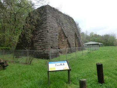 Cedar Grove Iron Furnace Marker image, Touch for more information