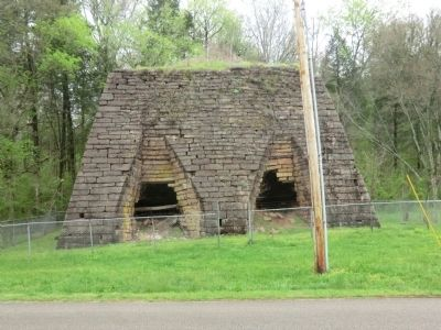 Cedar Grove Iron Furnace Marker image. Click for full size.