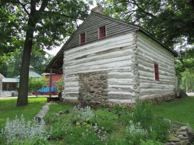 North Side Goodrich-Landow Log Cabin image. Click for full size.