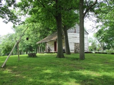 Wide View Goodrich-Landow Log Cabin image. Click for full size.