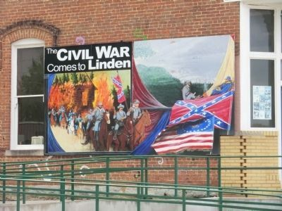 Banner-Civil War Comes to Linden image. Click for full size.