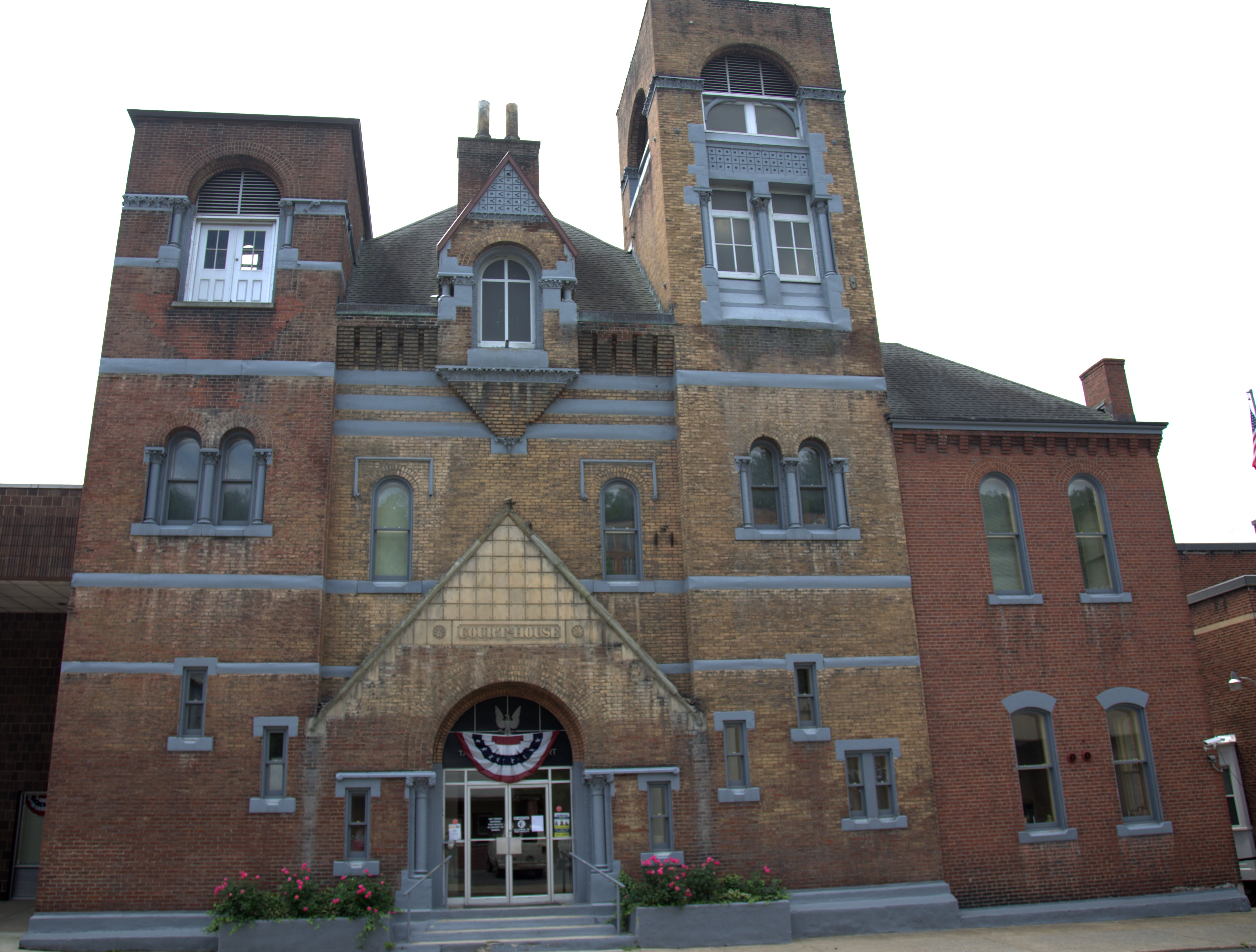 Taylor County Court-House, Grafton, West Virginia