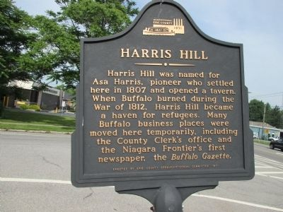 Harris Hill Marker image. Click for full size.