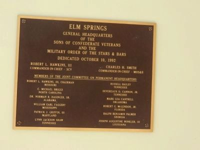 Historic Elm Springs image. Click for full size.