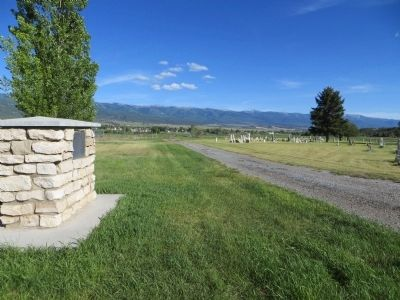Fairview Pioneer Cemetery Marker image. Click for full size.