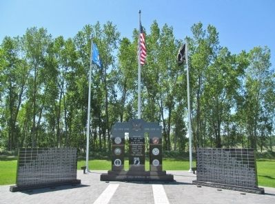 Shiocton Area Veterans Memorial image. Click for full size.