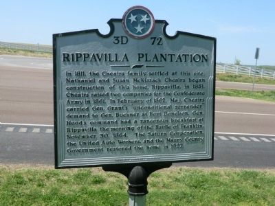 Rippavilla Plantation Marker image. Click for full size.