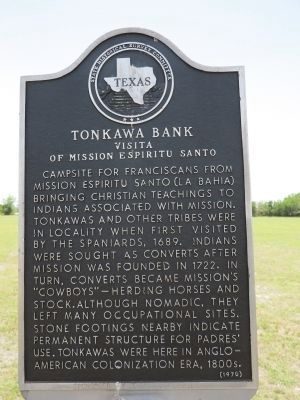 Tonkawa Bank Marker image. Click for full size.