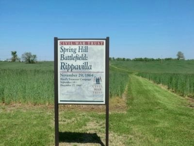 Spring Hill Battlefield: Rippavilla image. Click for full size.